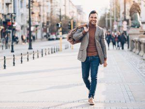 Manligt mode kan vara begagnat